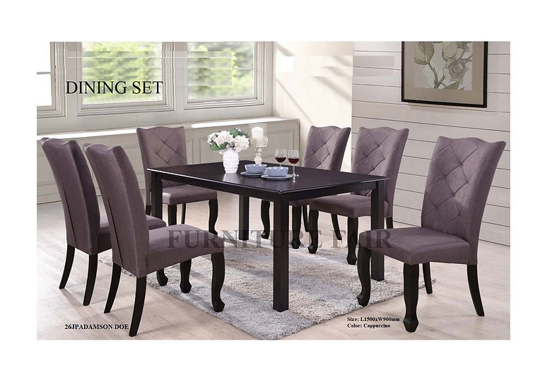 Wooden Sala Set Manila Dining Set 26jpadamson Doe Furniture Fair