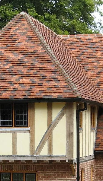 traditional handmade clay roofing tiles