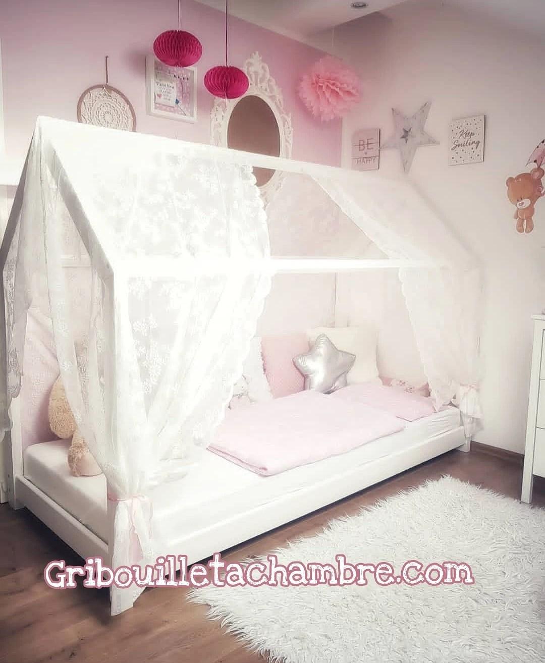 habiller nos lits cabane et baldaquin