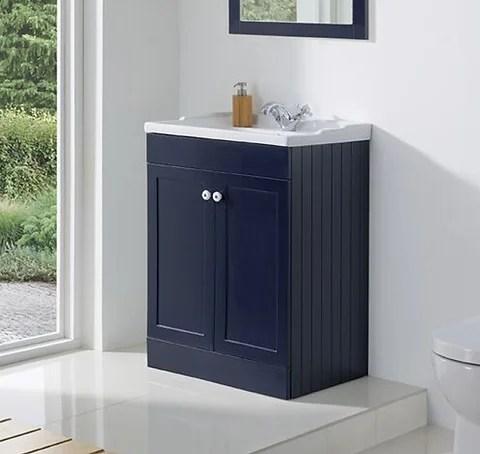 Duke Freestanding Vanity Unit Sapphire Blue Bathshed