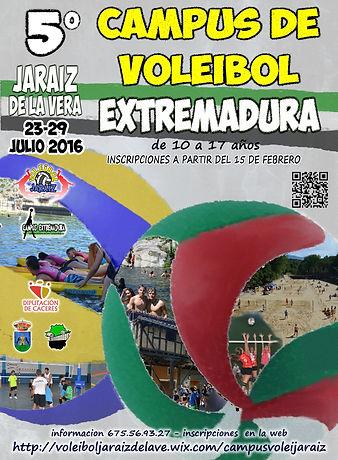 Campus de Voleibol Extremadura en Jaraíz de la Vera