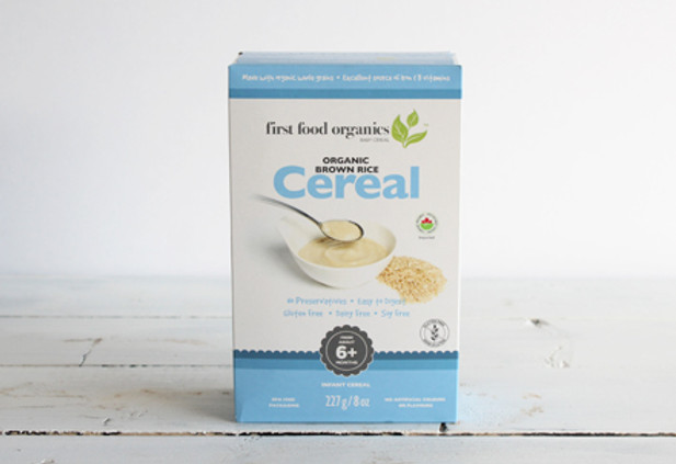 First Food Organics - brown rice cereal