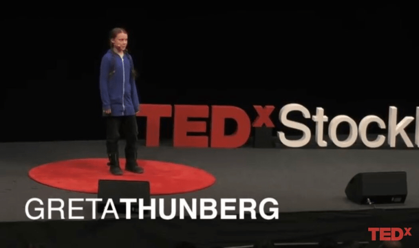 Image result for greta thunberg ted talk