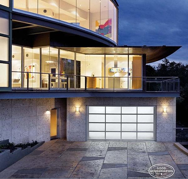 Glass Garage Door Showcase  San Diego