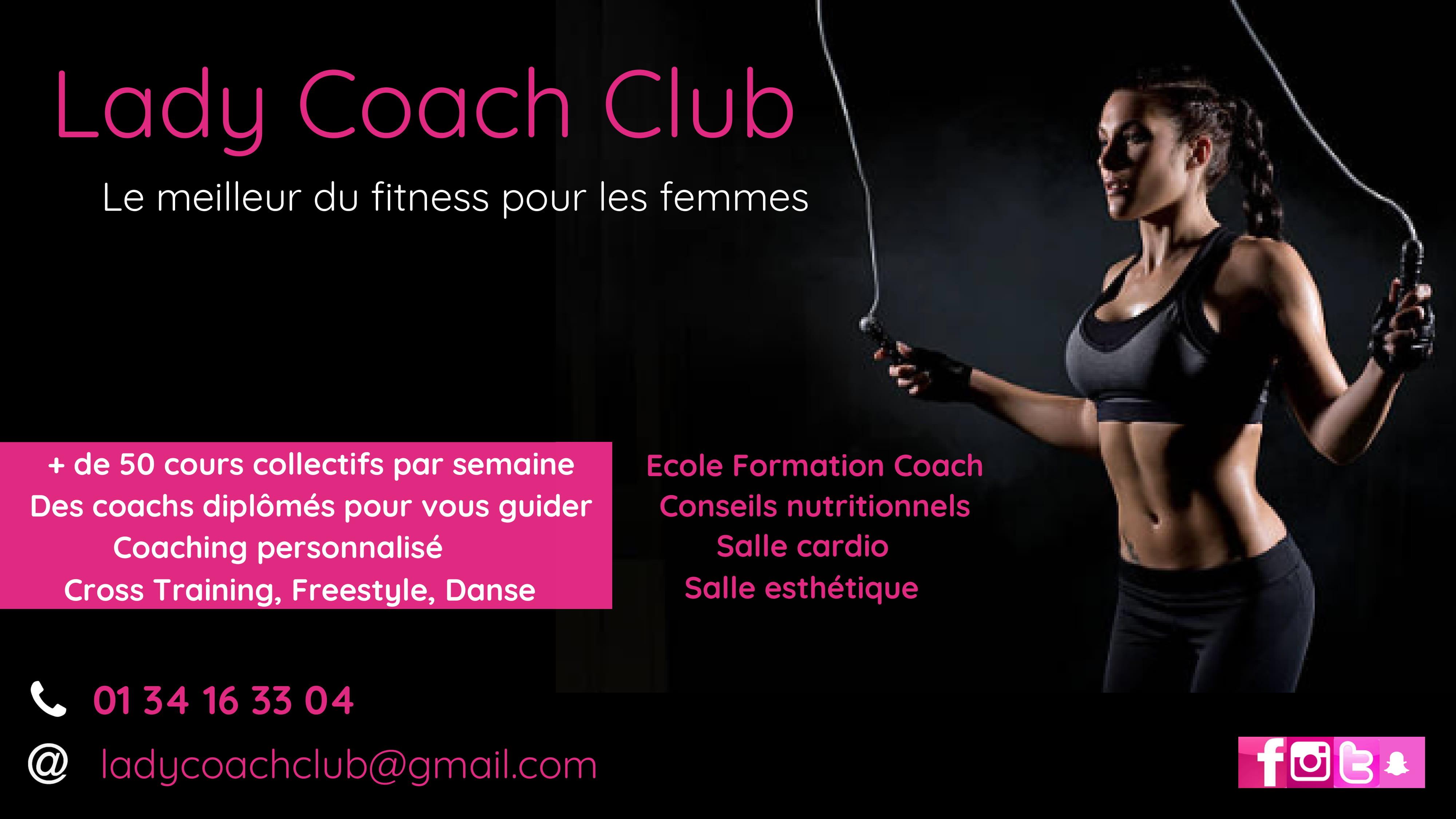 lady coach club eaubonne