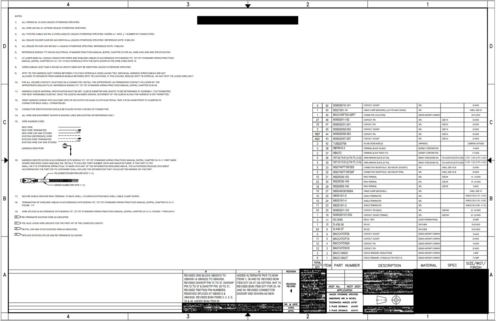 hight resolution of boeing 777 wiring diagram general notes