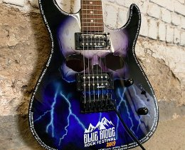 Blue Ridge Rock Fest Guitar by Ron Williams from Itsronzworld