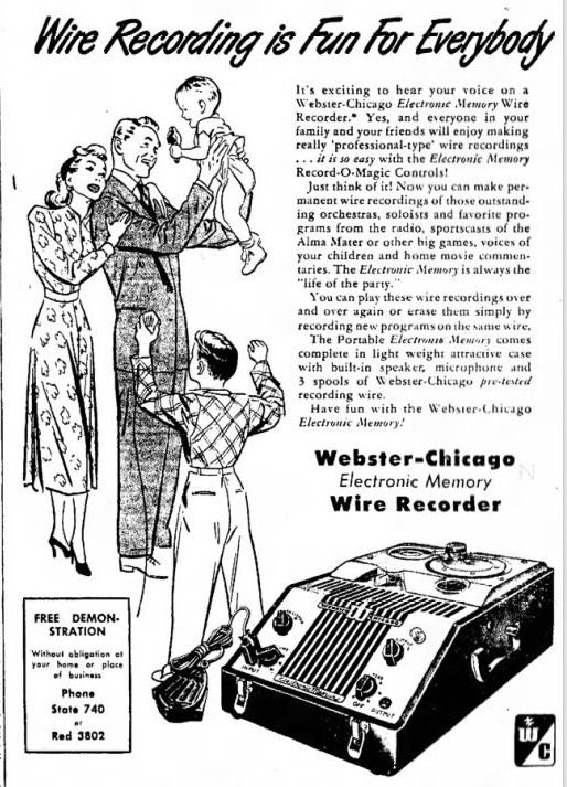 Webster-Chicago Corp History