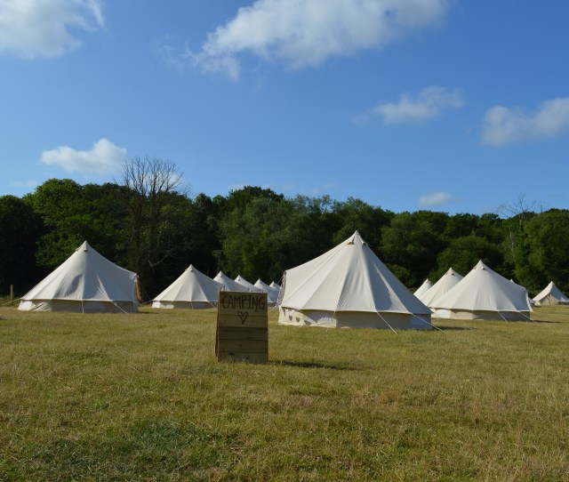 Frickley Lake Bell Tents