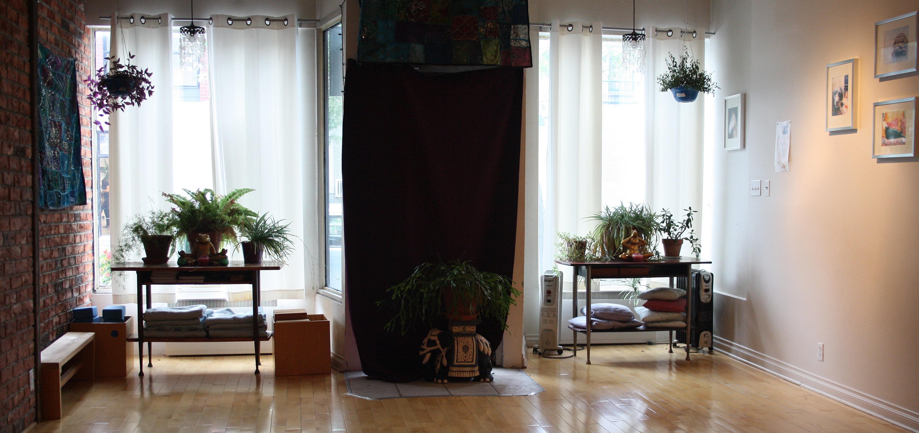 Living Room Yoga Schedule