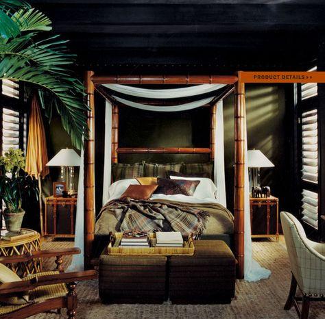 british colonial bedroom part i