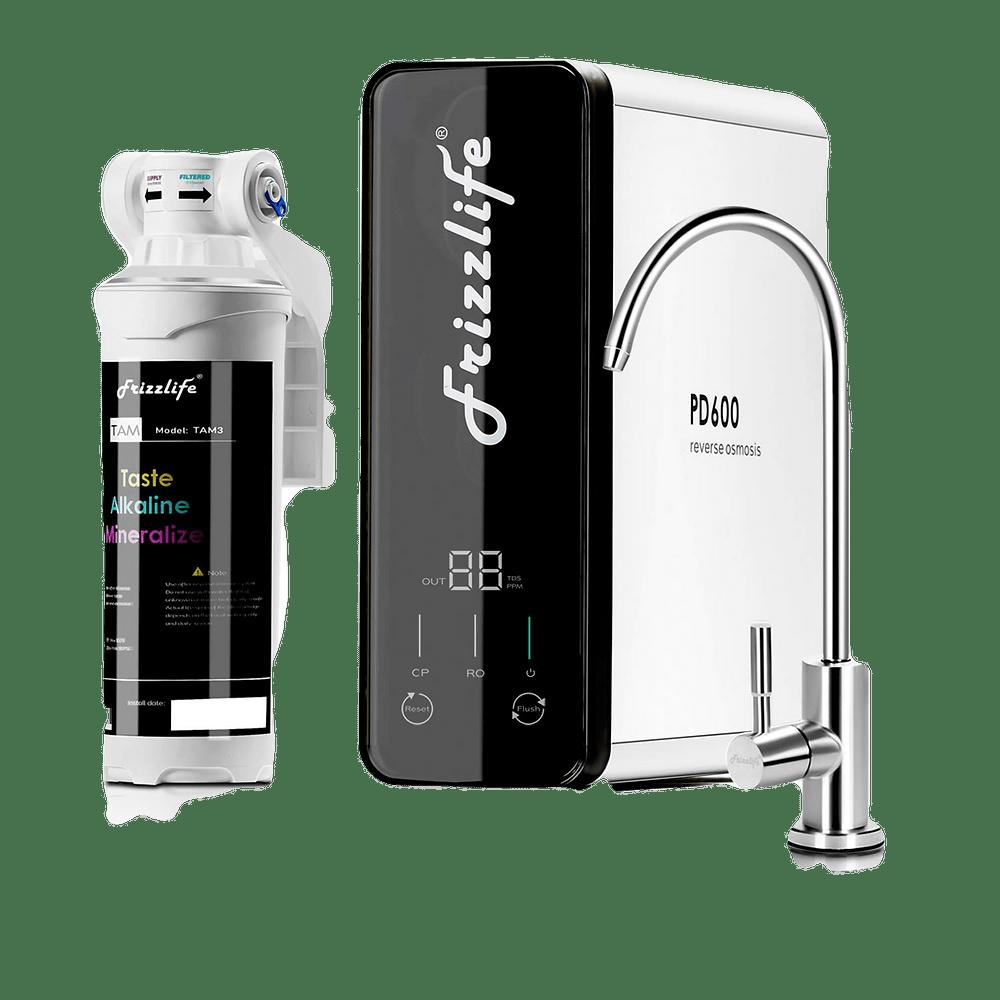 frizzlife reverse osmosis under sink