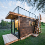 20ft Shipping Container Home With Rooftop Deck Floor Plan
