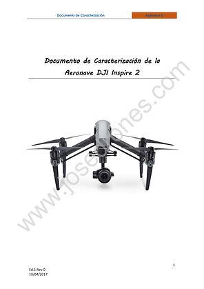 Manual de operaciones para drones, Documentación AESA drones