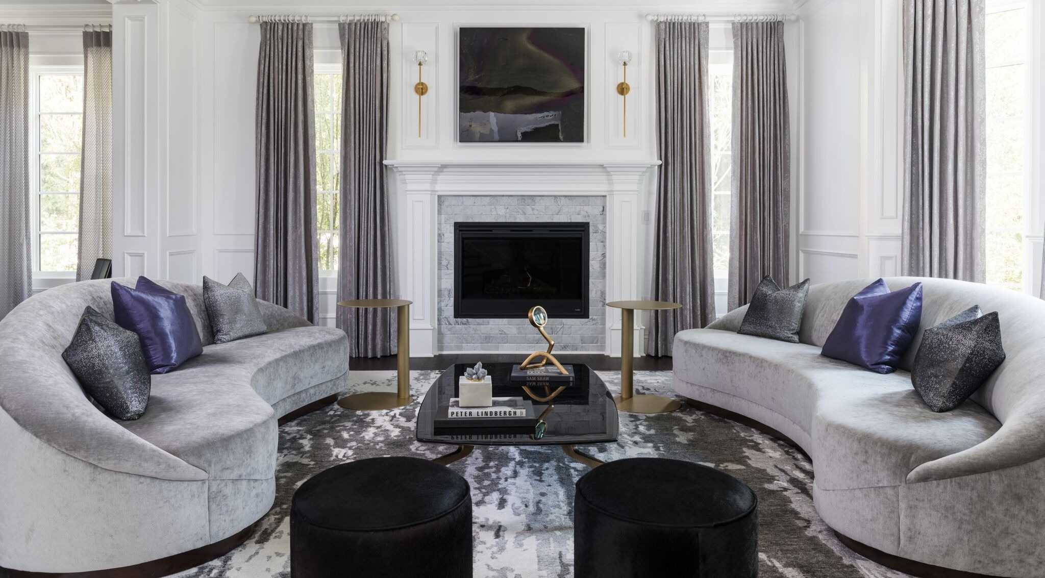 Hand Knotted Modern Rugs Beverly Hills Caravan Rugs