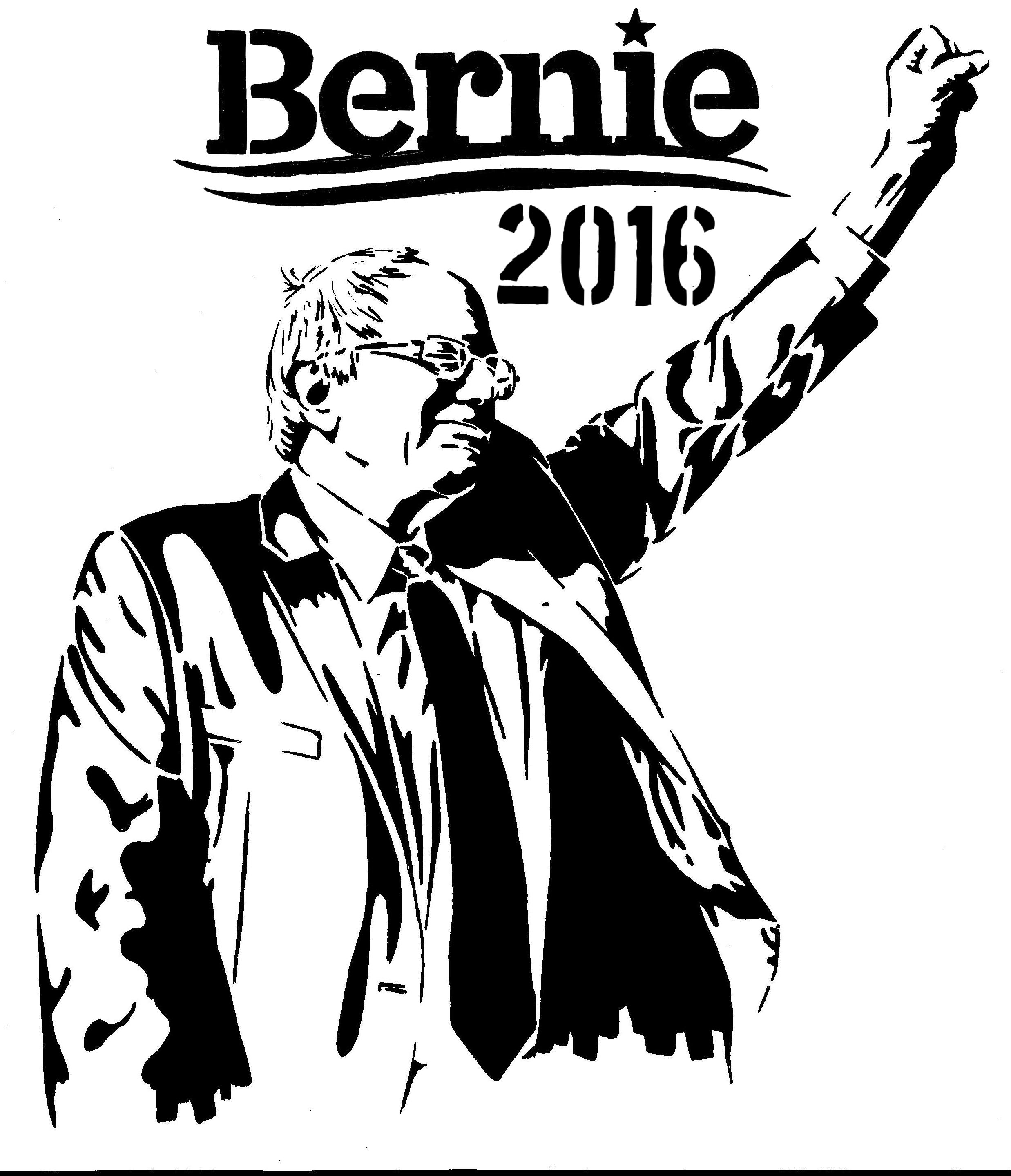 Stencils for Bernie