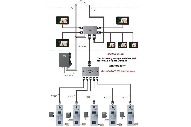 Intercom System Schematic Diagram