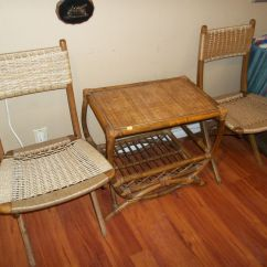 Yugoslavian Folding Chair Glider Parts Replacement My Grandmas Attic Edmonton Used And New Gift Shop