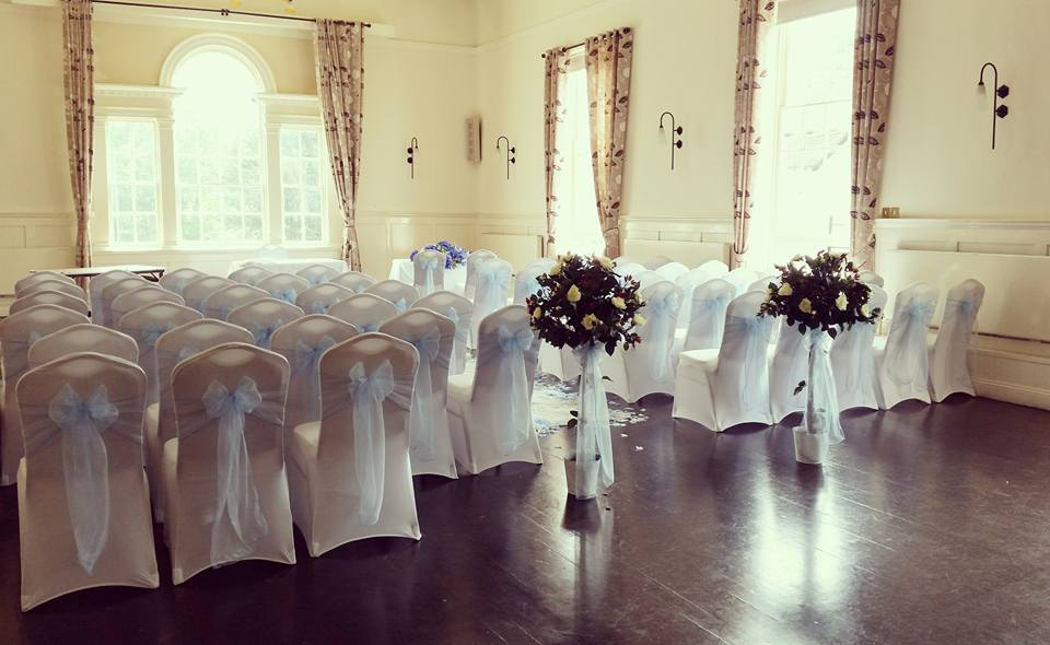 chair covers and sash hire hertfordshire grey fabric dining chairs cover in sororio events stevenage