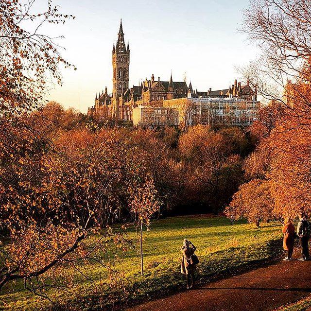 Glasgow autumn