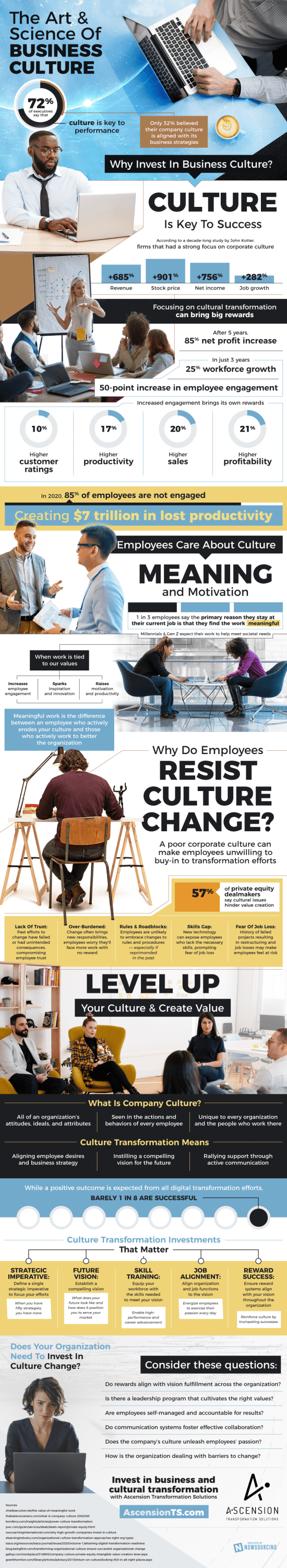 Why Invest in Business Culture Transformation?