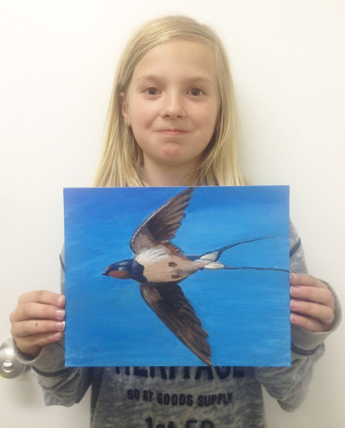Art Classes for 8-12 year olds