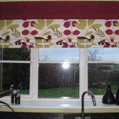 Large Kitchen Window Treatments Tall Storage Cabinet Tina Smith Roman Blind Specialist Kent