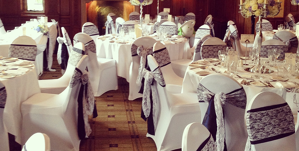 wedding chair covers warrington floral upholstered stunning venue dressing simply