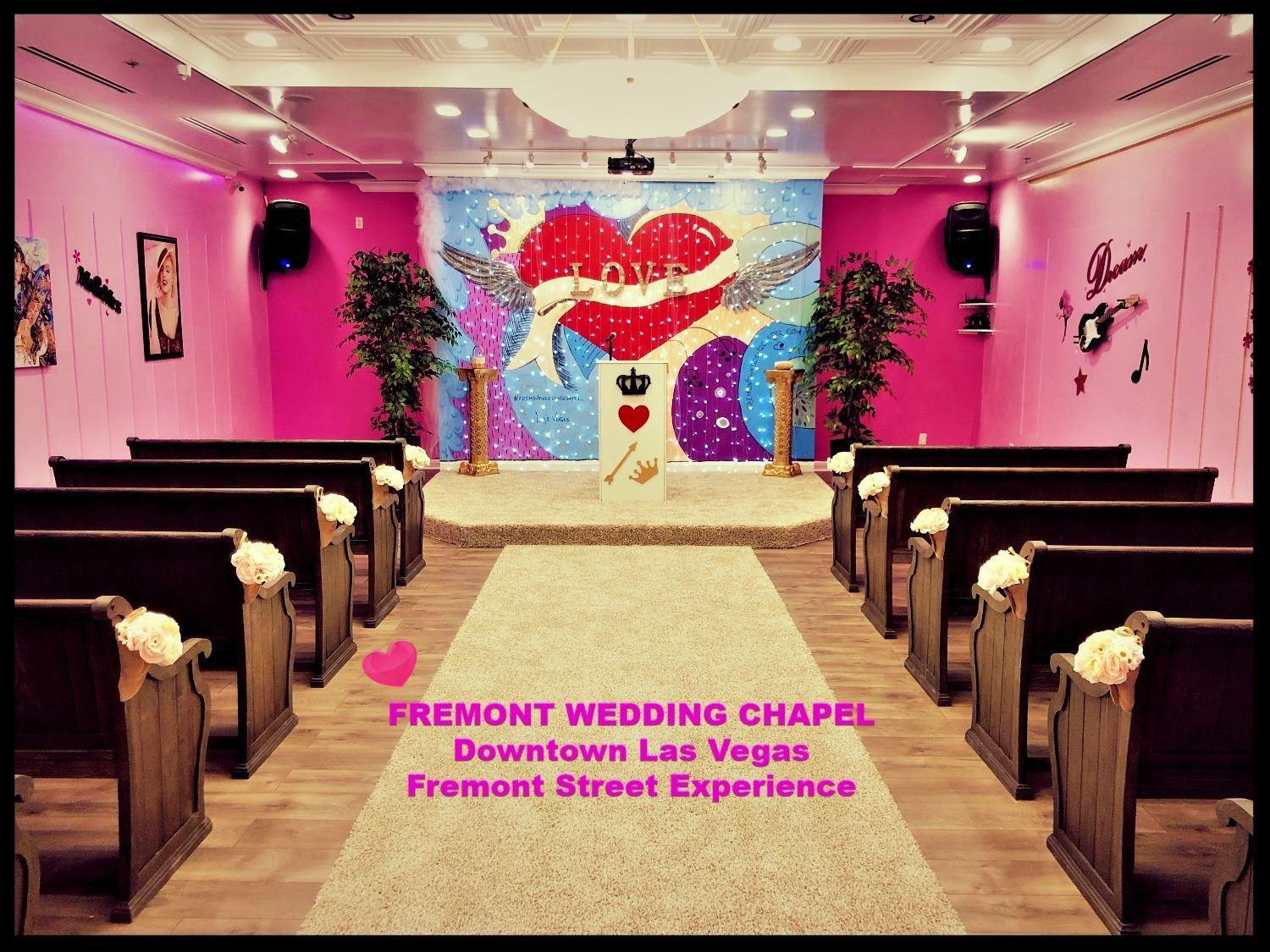 Unique Vegas Wedding Packages