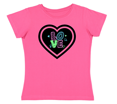 Ladies Love T-Shirt