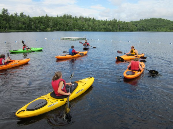 Natures Classroom Adventure Camp Hampshire Summer England Intro Paddle Sports