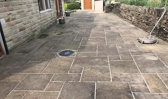 driveway patio cleaning in leeds