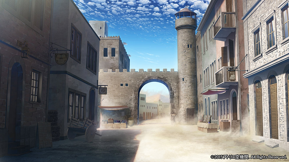 Atelier 空機関 背景製作 ゲーム背景 背景制作 SAMPLE