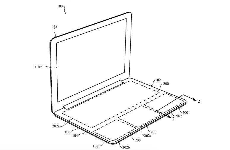 Apple patents a keyboard-less Force Touch Macbook