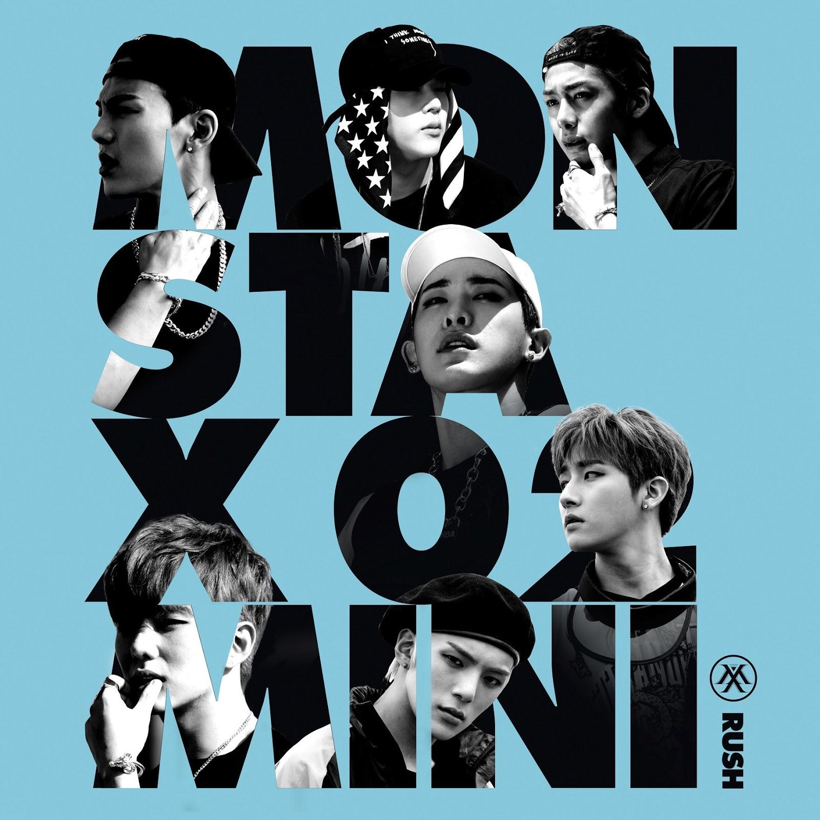 Bildergebnis für rush monsta x album cover