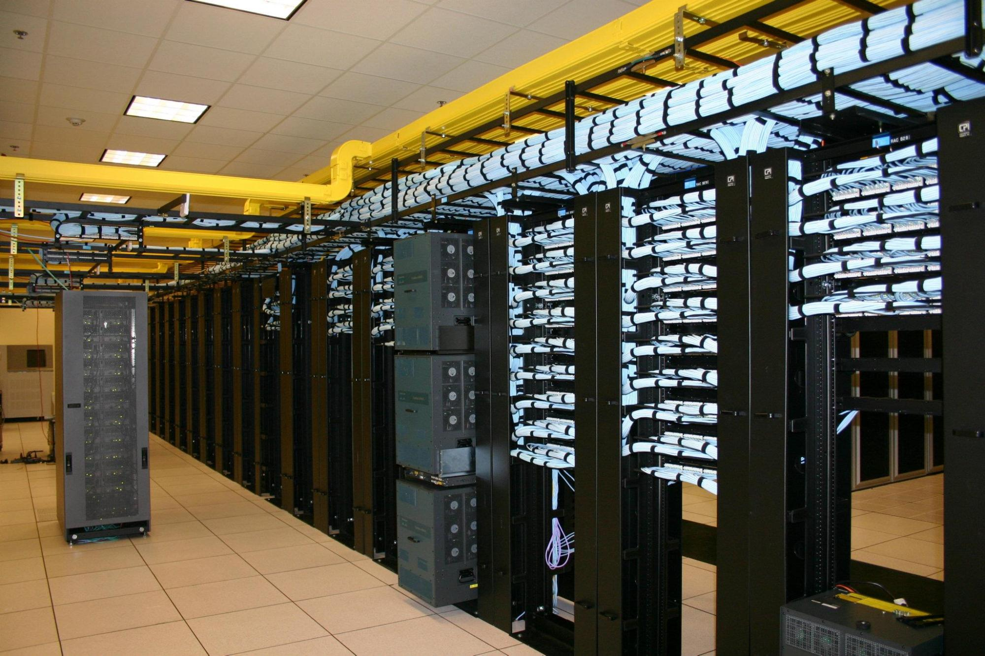 hight resolution of structured cabling data center cabling