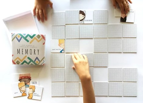 How to Enjoy General Conference with Kids featured by top LDS Primary activity store, Come Follow Me FHE: Memory Game with the Little Prophets and Women of the Scriptures