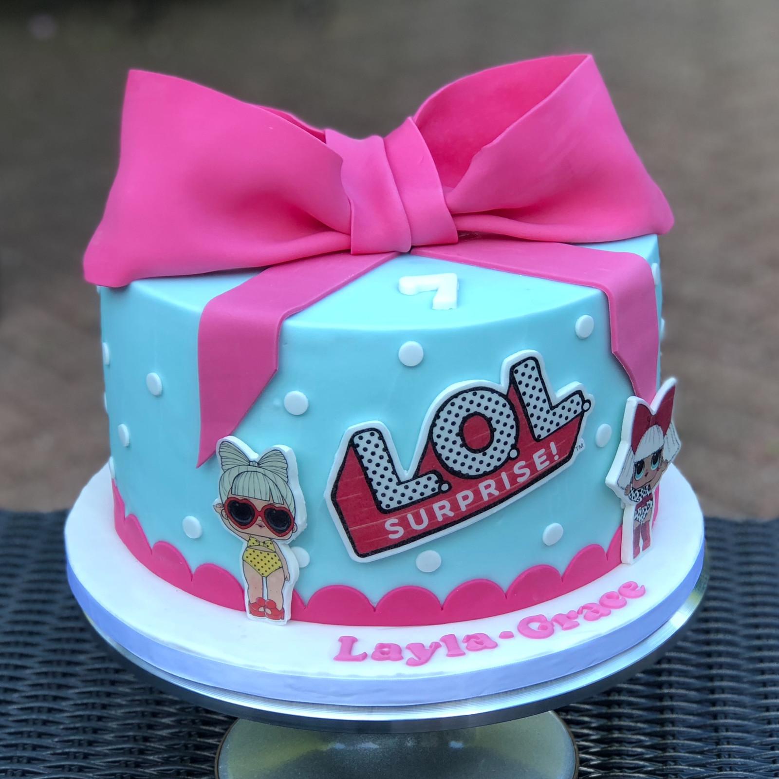 Lol Surprise 7th Birthday Cake