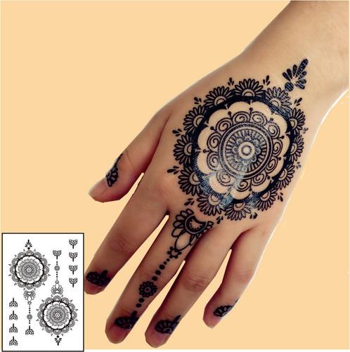 Henna Sticker 3  Henna Tattoo  Onlineshop Schweiz