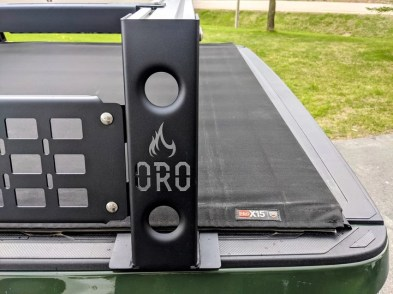 tonneau cover and bed rack