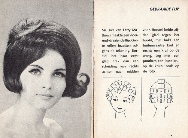 Blog Wet Set And Go My Experiments With 60s Hair Styles Can