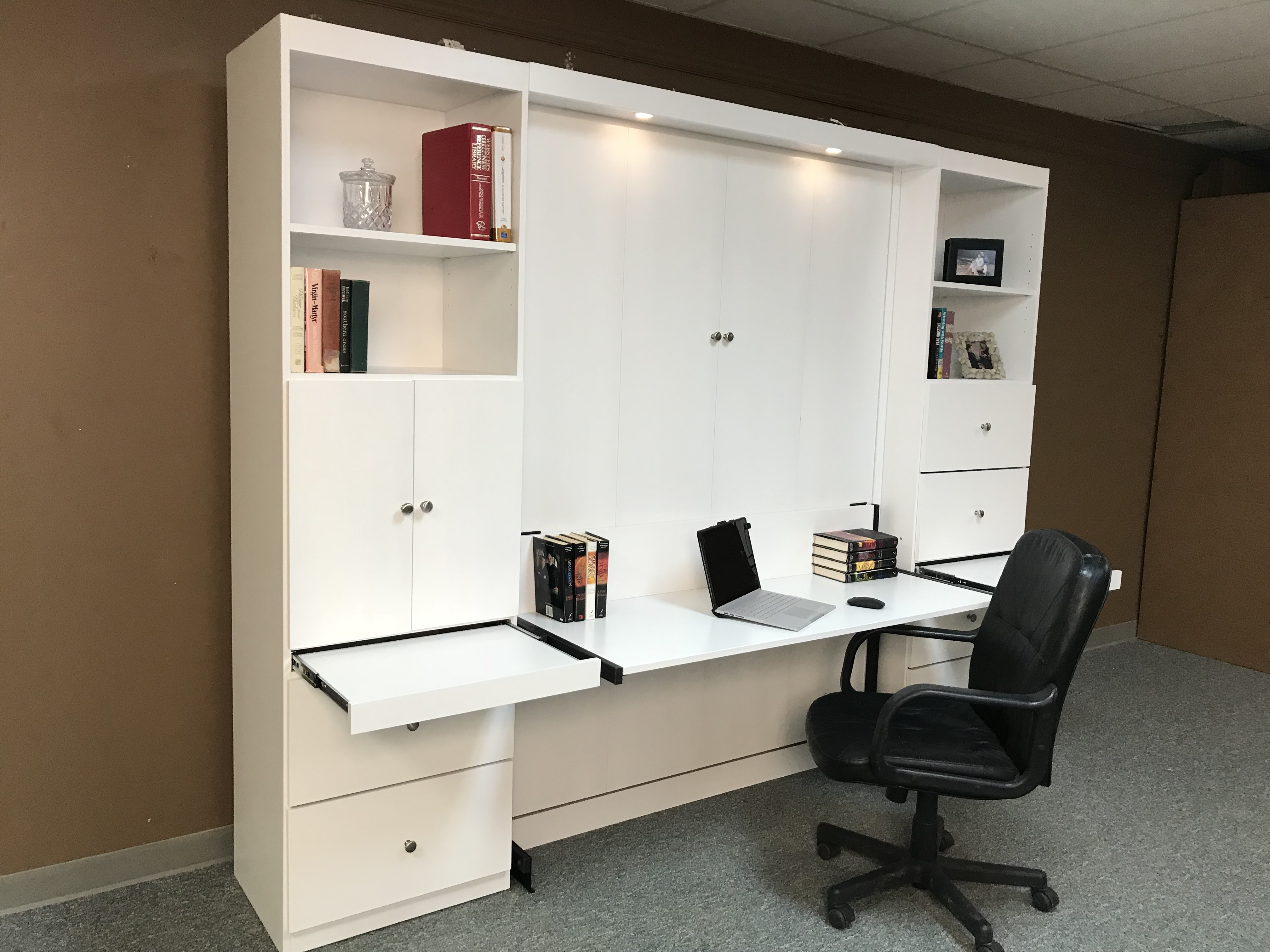 alpine desk murphy bed