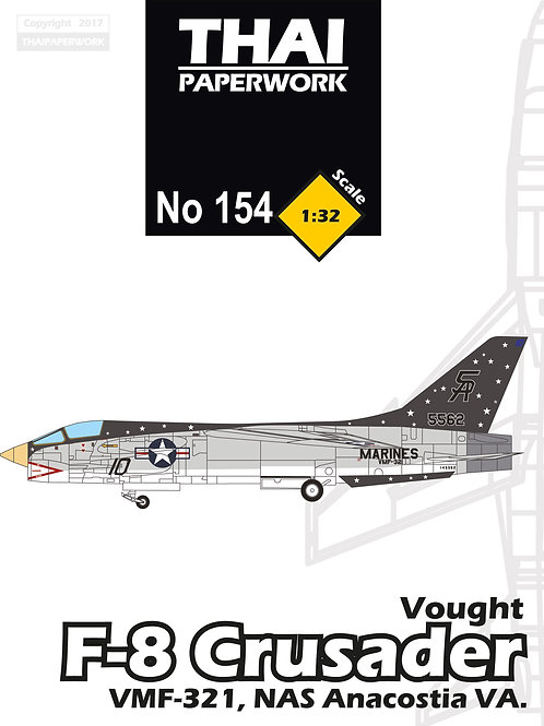Vought F-8 Crusader : vought, crusader, Vought, Crusader, VMF-321, Anacostia, Thaipaperwork