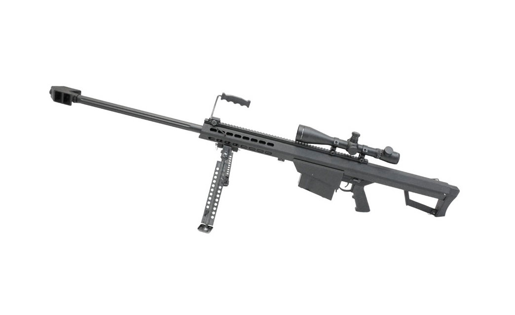 Snow Wolf M82A1 Spring Sniper Rifle with Scope (Black