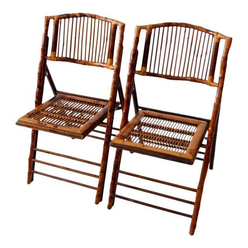 bamboo folding chair christmas covers ebay chairs featuring backs and seats with slender reed slatting use as ceremony seating or dining
