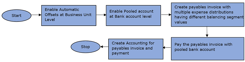 Company Balanced Payables Accounting Using Automatic Offsets And Pooled Bank Accounts Functionality