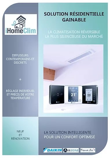 ihome clim climatisation gainable a aix