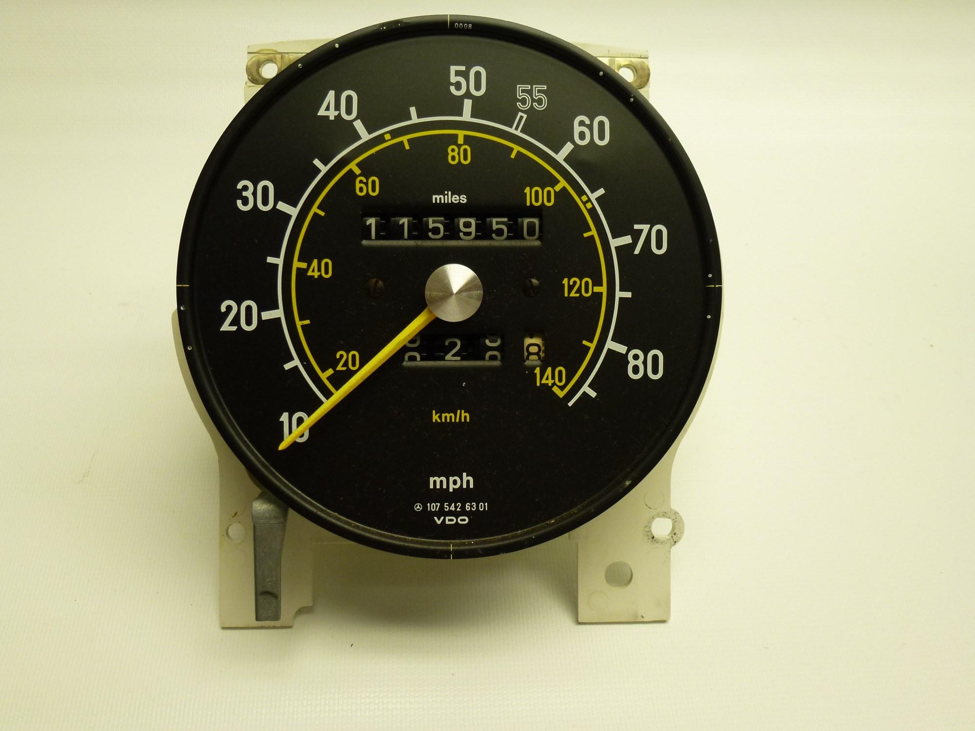 hight resolution of speedometer repair