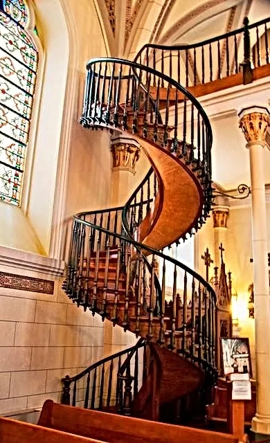 Pinon Rv Park Camping Nearby Loretto Chapel And Miraculous Staircase   The Staircase Of Loretto Chapel   Spiral   Explained   Ancient   Free Standing   Sparrow