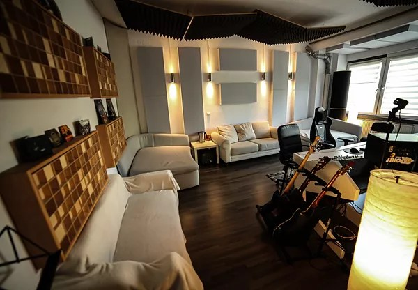 Recording Studio In Berlin Paris Dna Music Studio